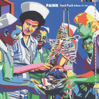 Cover V/A, paink - french punk anthems 1977-1982