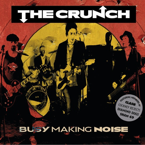 CRUNCH, busy making noise cover
