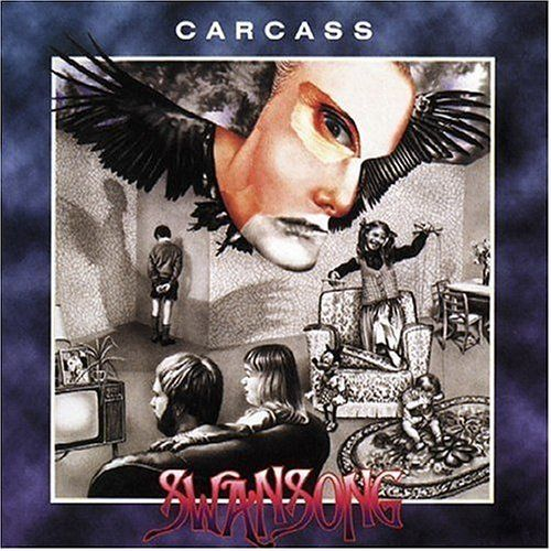 CARCASS, swansong cover