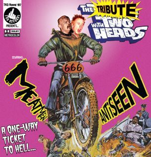 ANTISEEN / MEATMEN, the tribute with two heads cover