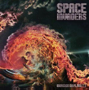 Cover SPACE INVADERS, invasion of planet z