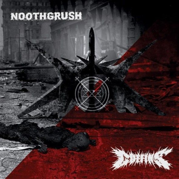 NOOTHGRUSH / COFFINS, split cover