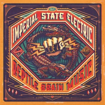 IMPERIAL STATE ELECTRIC, reptile brain music cover