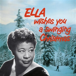 Cover ELLA FITZGERALD, ella wishes you a swinging christmas