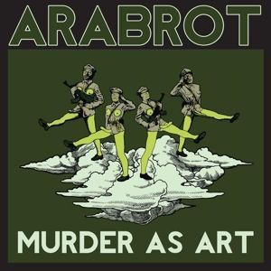 Cover ARABROT, murder as art ep