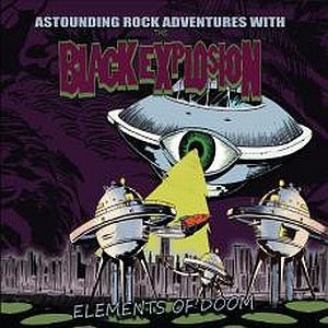 Cover BLACK EXPLOSION, elements of doom