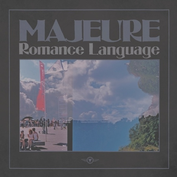 Cover MAJEURE, romance language