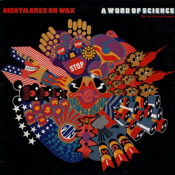 NIGHTMARES ON WAX, a word of science cover