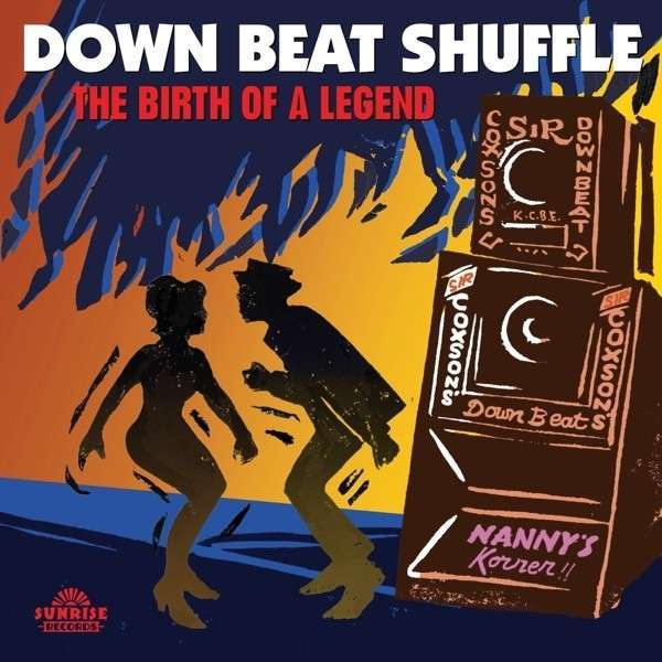 Cover V/A, down beat shuffle - birth of a legend