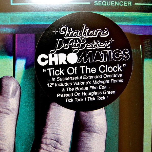 CHROMATICS, tick of the clock cover