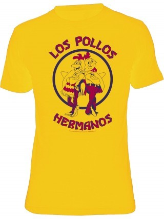 Cover BREAKING BAD, los pollos hermanos (boy), yellow