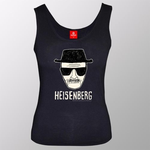 Cover BREAKING BAD, heisenberg_tanktop_black
