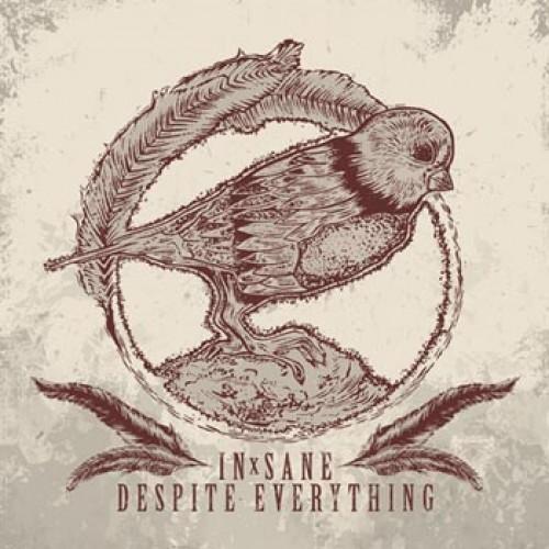 DESPITE EVERYTHING / IN-SANE, split cover