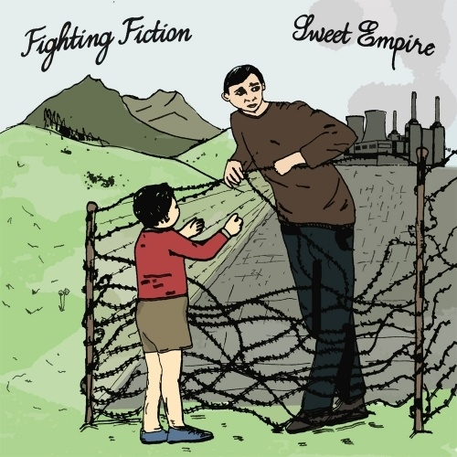 Cover FIGHTING FICTION / SWEET EMPIRE, split