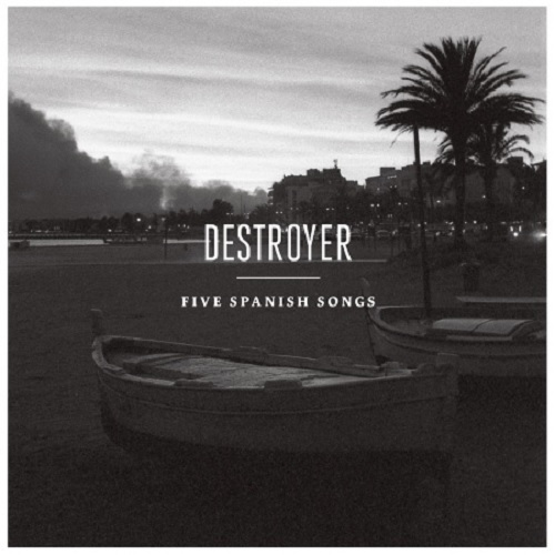 Cover DESTROYER, five spanish songs ep