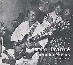 Cover LOBI TRAORÈ, bamako nights
