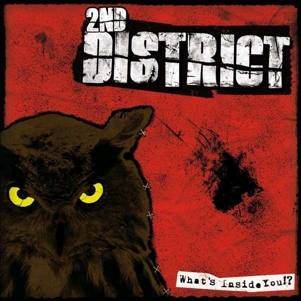 Cover 2ND DISTRICT, what´s inside you?