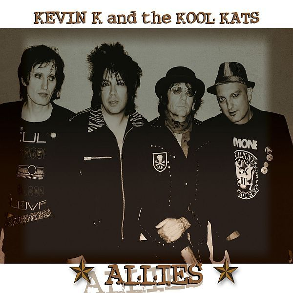 Cover KEVIN K & THE KOOL KATS, allies
