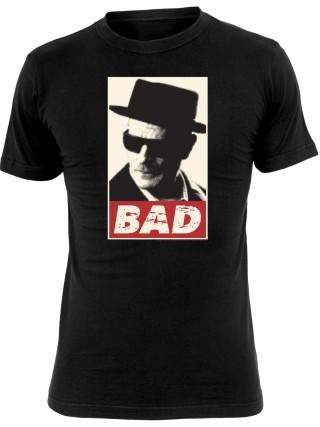 Cover BREAKING BAD, bad (boy), black