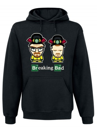 Cover BREAKING BAD, comic duo_hoodie_black