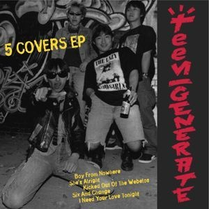 Cover TEENGENERATE, five covers ep