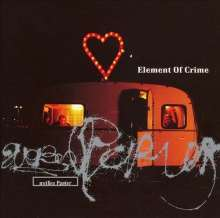 Cover ELEMENT OF CRIME, weisses papier