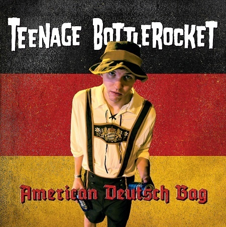 Cover TEENAGE BOTTLEROCKET, american deutsch bag