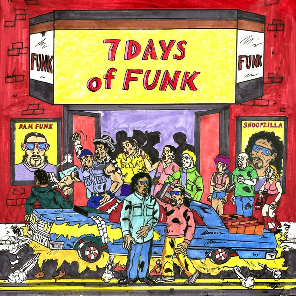 Cover 7 DAYS OF FUNK, s/t