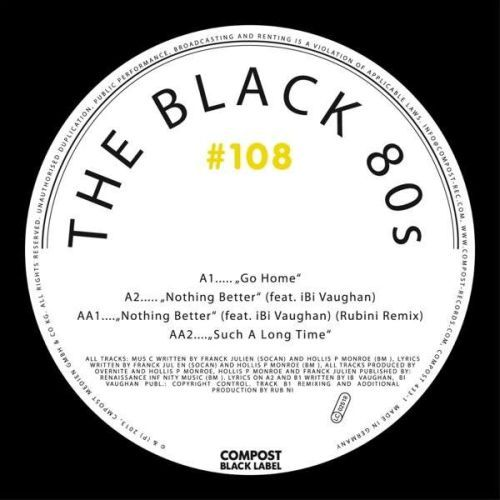 Cover BLACK 80S, compost black label 108