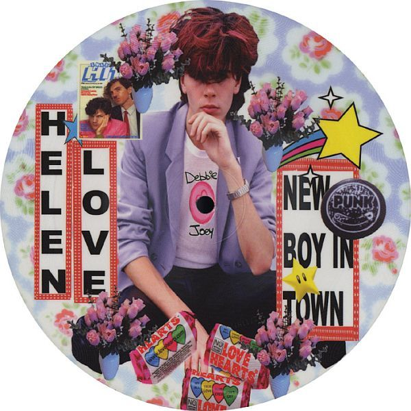 HELEN LOVE, new boy in town / television generation cover