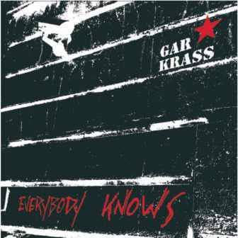 Cover GAR KRASS, everybody knows