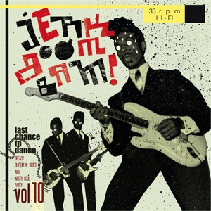 Cover V/A, jerk! boom! bam! vol. 10
