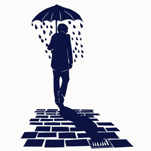 MIRJAM DIJKEMA, rain (boy), vintage white cover