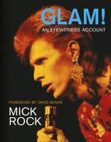 Cover MICK ROCK, glam! an eyewitness account