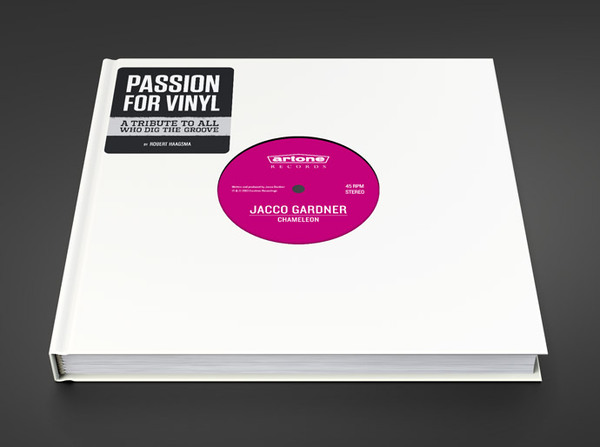 Cover ROBERT HAAGSMA, passion for vinyl
