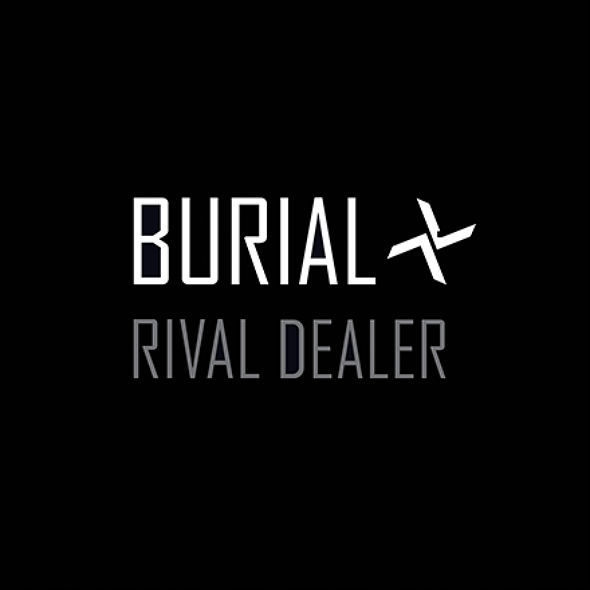 BURIAL, rival dealer ep cover