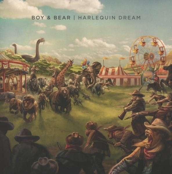 Cover BOY & BEAR, harlequin dream