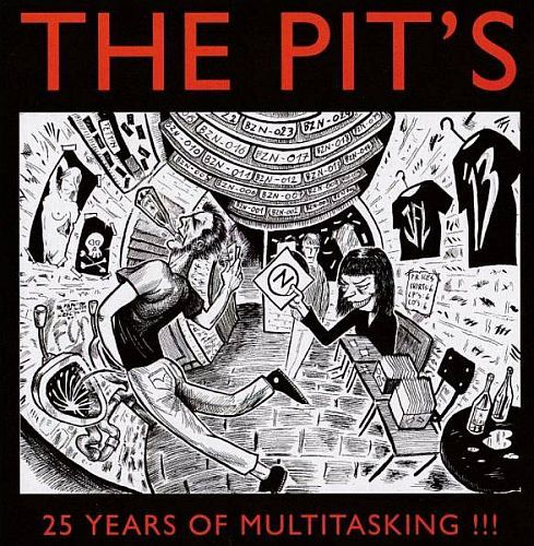 Cover V/A, the pit´s - 25 years of multitasking