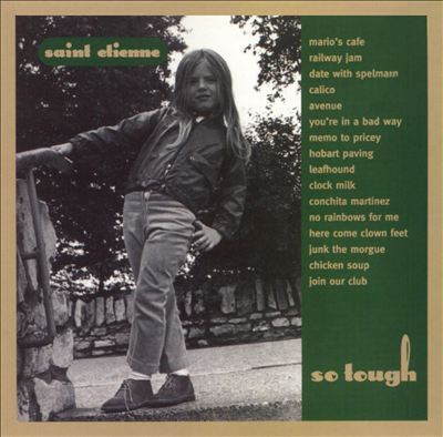 SAINT ETIENNE, so tough cover