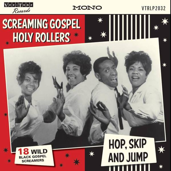 Cover V/A, screaming gospel holy rollers - hop, skip and jump