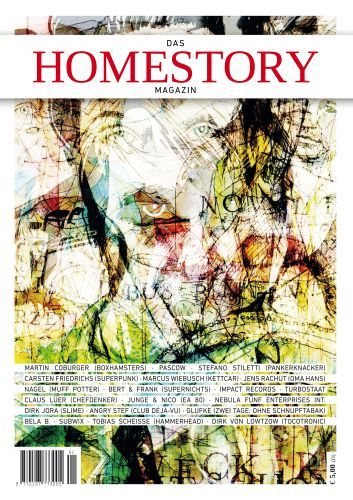 Cover HOMESTORY MAGAZIN, # 1
