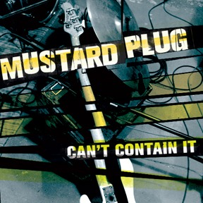 Cover MUSTARD PLUG, can´t contain it