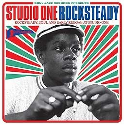 Cover V/A, studio one rocksteady