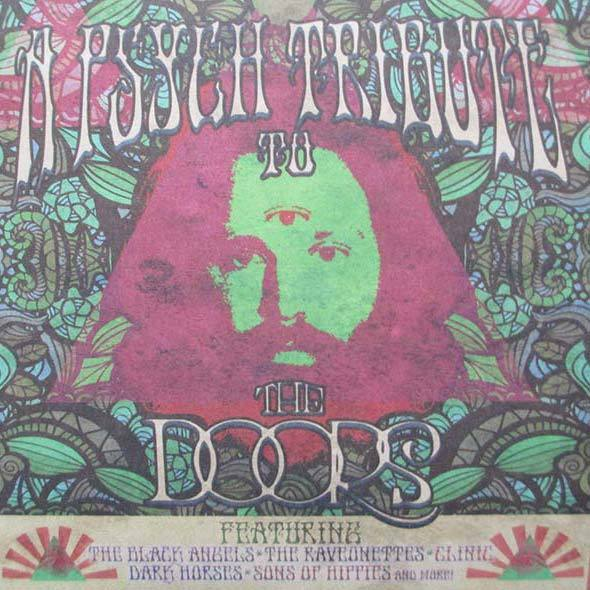 Cover V/A, psych tribute to the doors