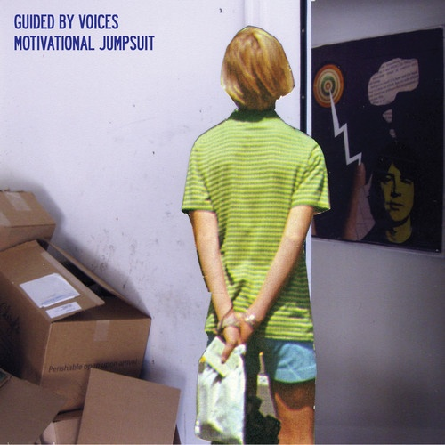 Cover GUIDED BY VOICES, motivational jumpsuit