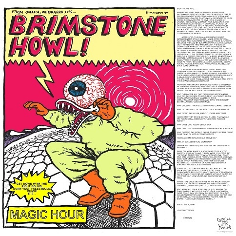 Cover BRIMSTONE HOWL, magic hour