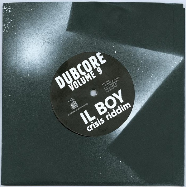 Cover IL BOY, dubcore vol. 9