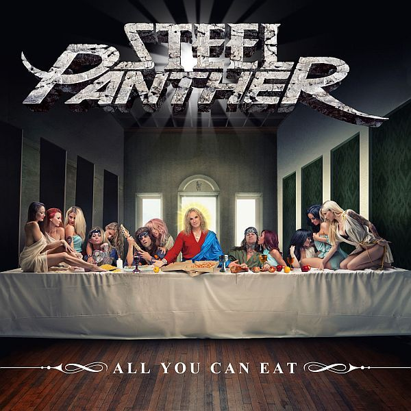 Cover STEEL PANTHER, all you can eat