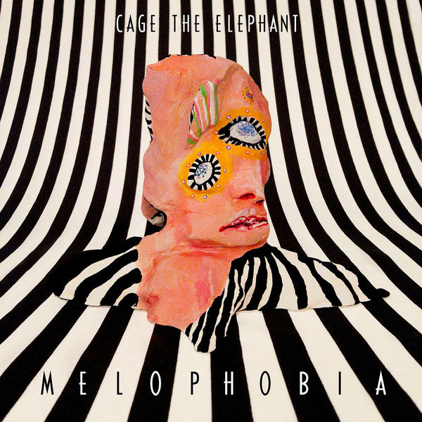 Cover CAGE THE ELEPHANT, melophobia