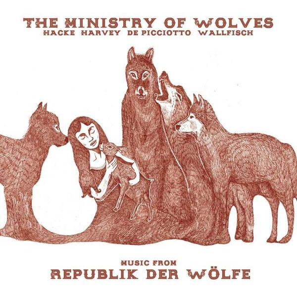Cover MINISTRY OF WOLVES, music from republik der wölfe